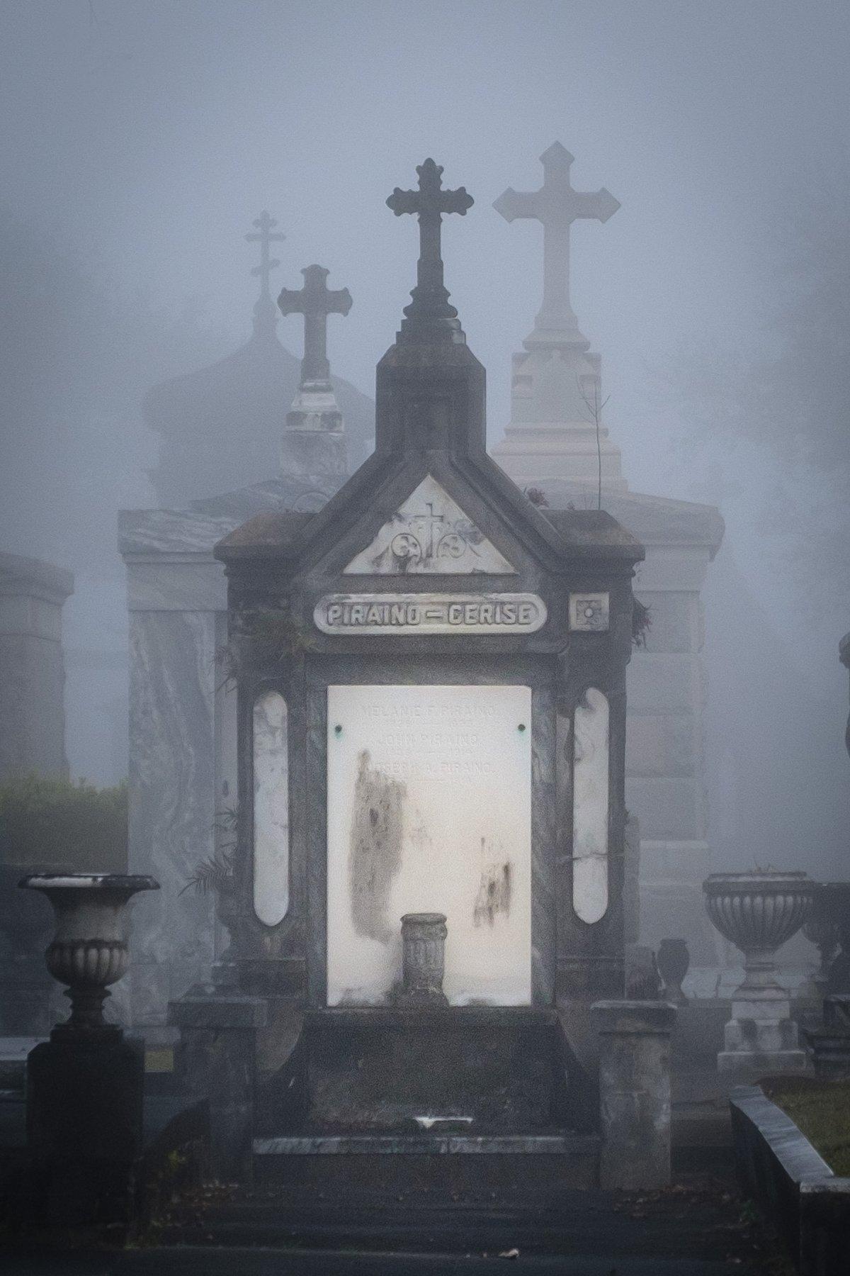 Piraino / New Orleans Cemetery Print