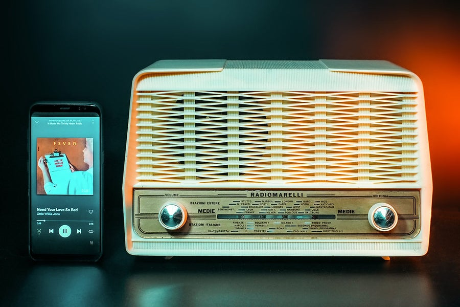Image of RADIOMARELLI AMICO RD160 (1955) RADIO D'EPOCA BLUETOOTH