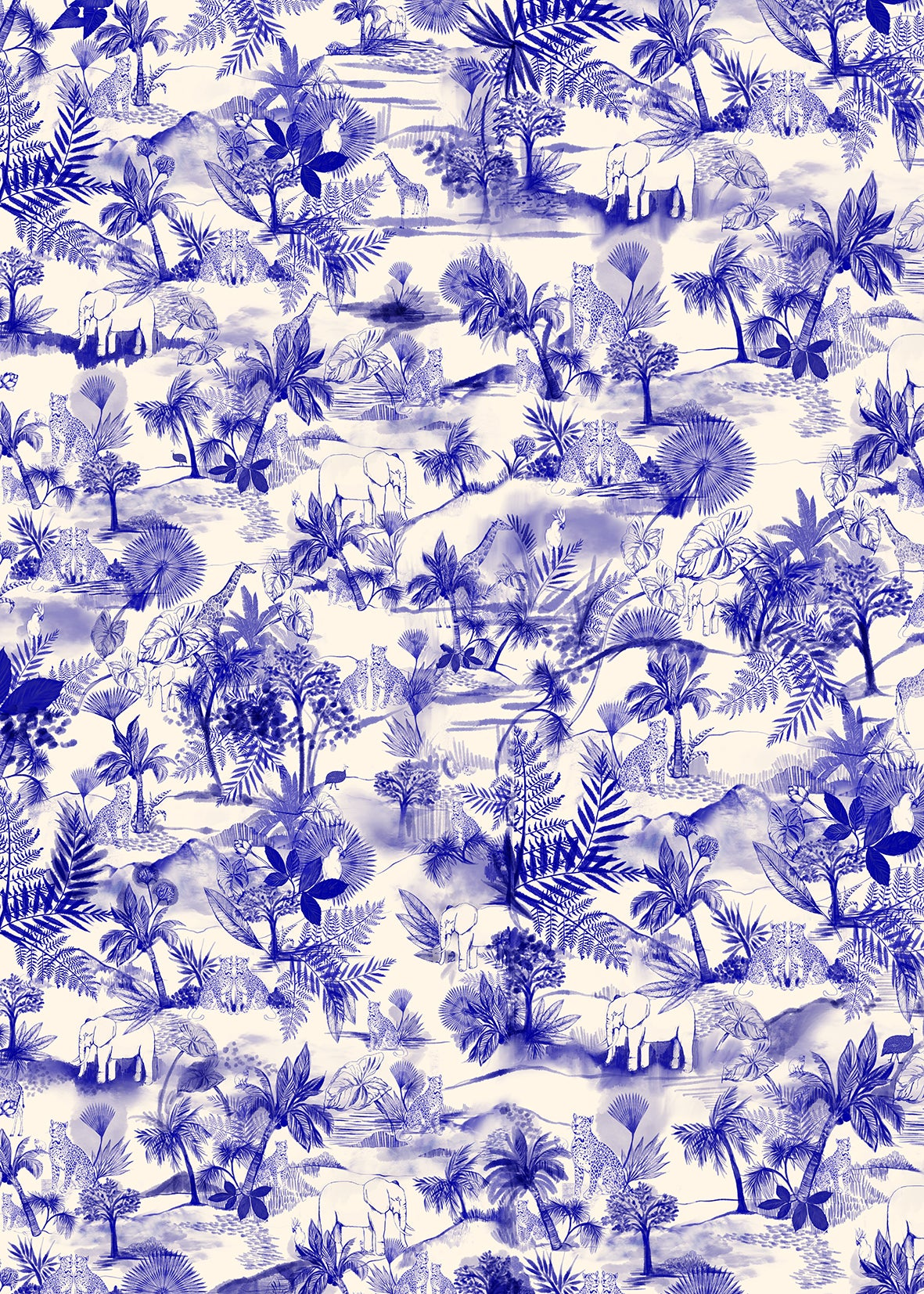 Image of WRAPPING PAPER TOILE