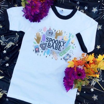 Image of Spooky Babe Tee