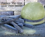 Image of Inner Tube Rubber bands for Vietnam Era helmets.