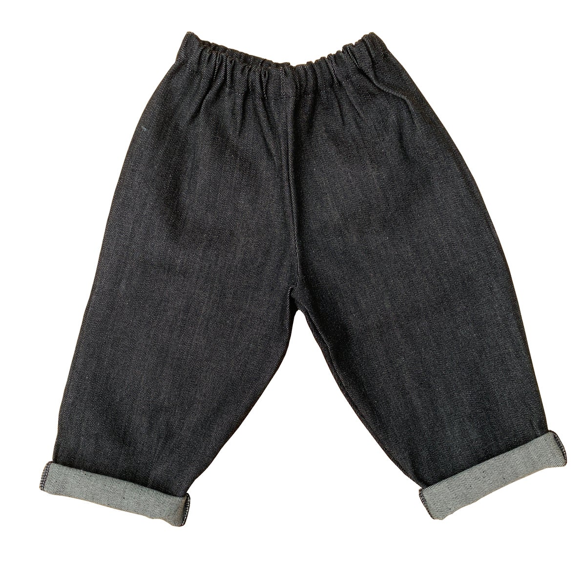 Image of Pippins - Toddler Jeans In Raw Balck