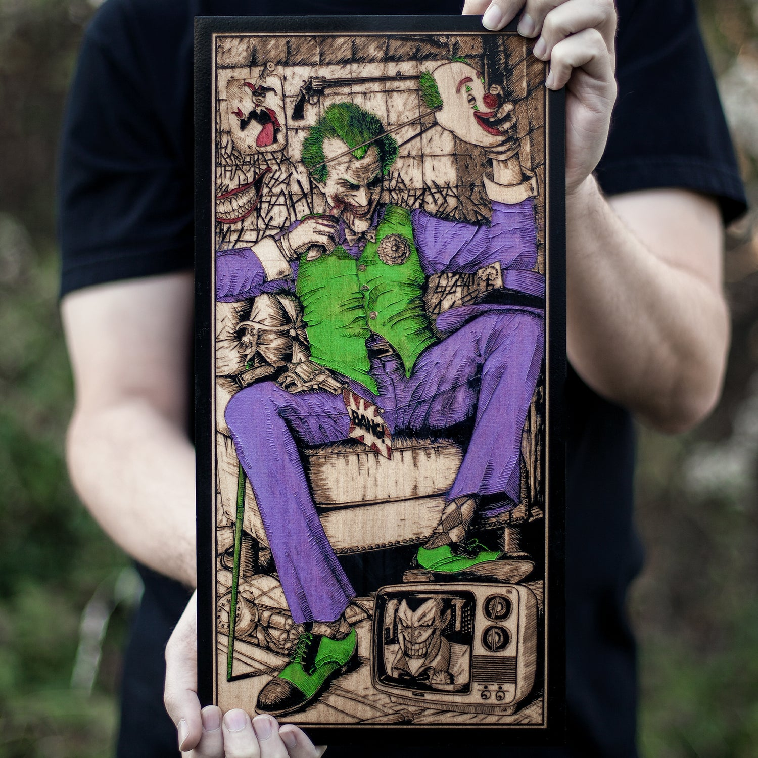 Image of Joker! Multi-Color hand painted edition