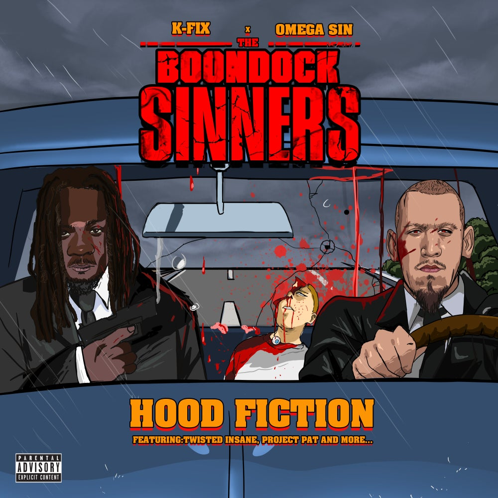 Image of The Boondock Sinners Hood Fiction CD