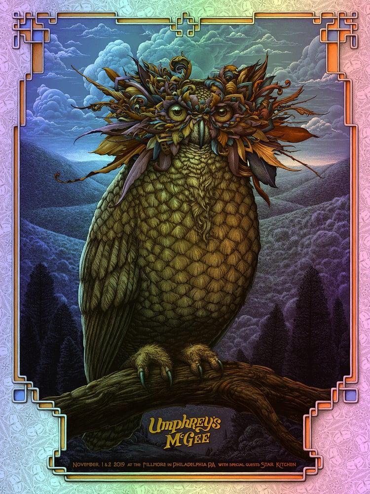 Image of Umphrey's McGee Gig poster: November 1/2 at The Fillmore