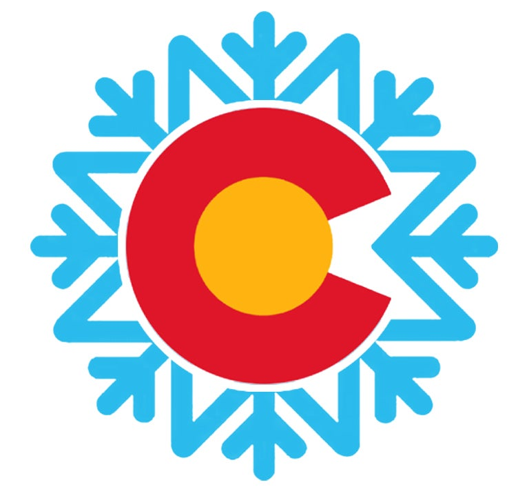 "Image of NEW LIMITED EDITION COLORADO SNOW FALL 4"" STICKER"