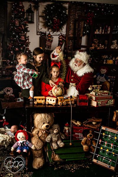 Image of Magical Interactive Santa Photos
