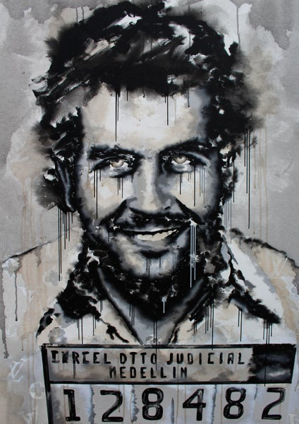 Image of Pablo Escobar (Limited Edition Print)