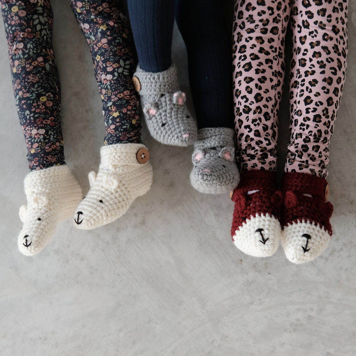 Image of Baby, Child, Teen And Adult Animal Character Slippers
