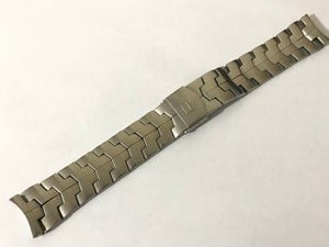 Image of 22mm Mens Tag Heuer Stainless Steel Watch Strap Bracelet For Tag Heuer Sports Watches curved lug