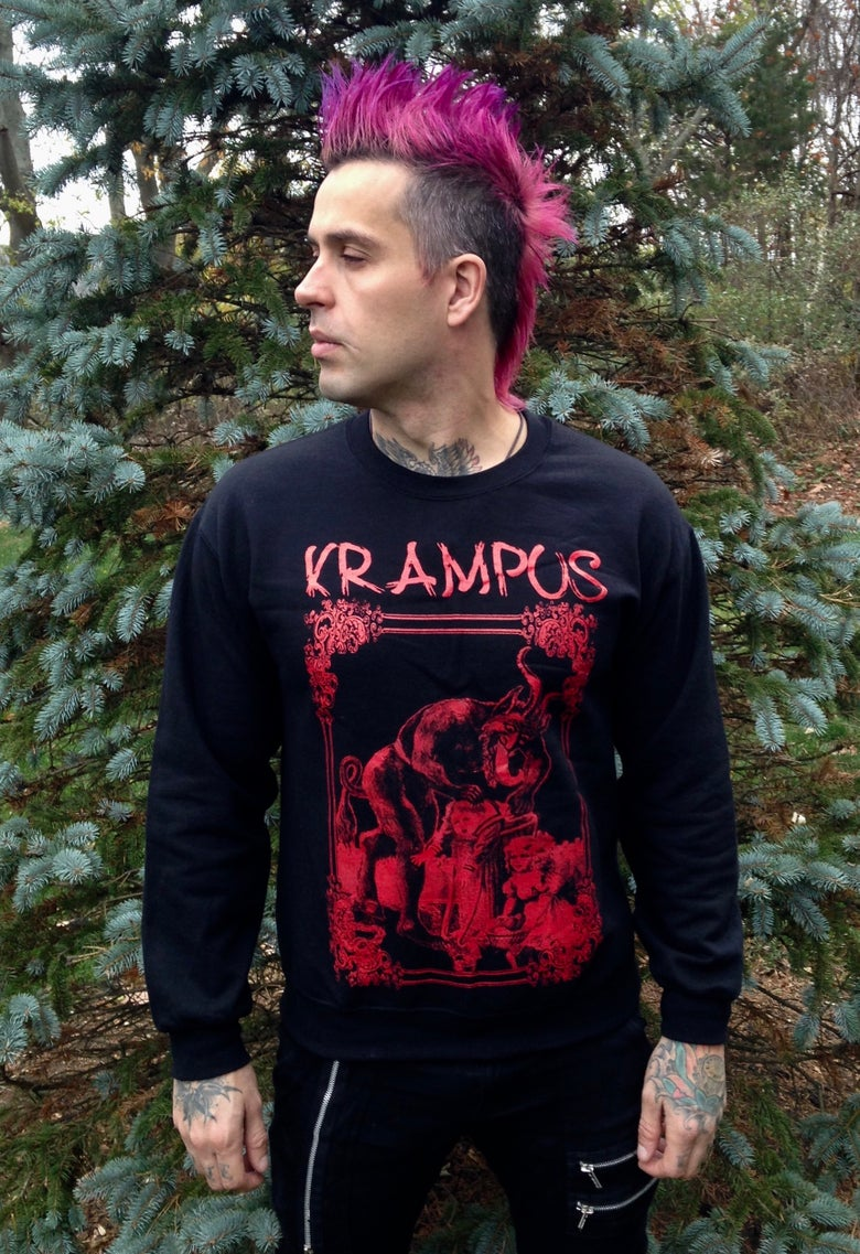 Image of Krampus Evil Xmas Sweater