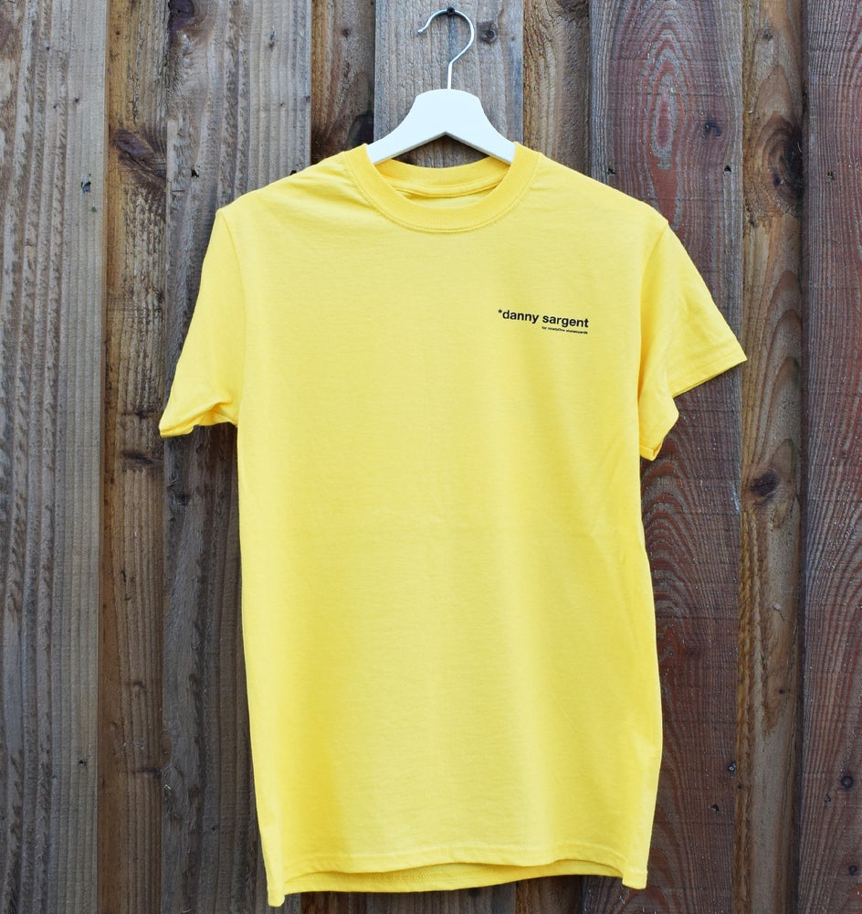 Image of Sarge Tee - S/S Yellow