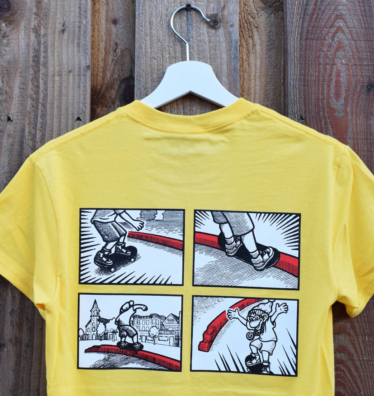 Sarge Tee - S/S Yellow