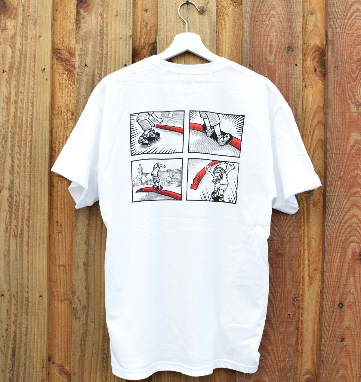 Image of Sarge Tee - S/S White