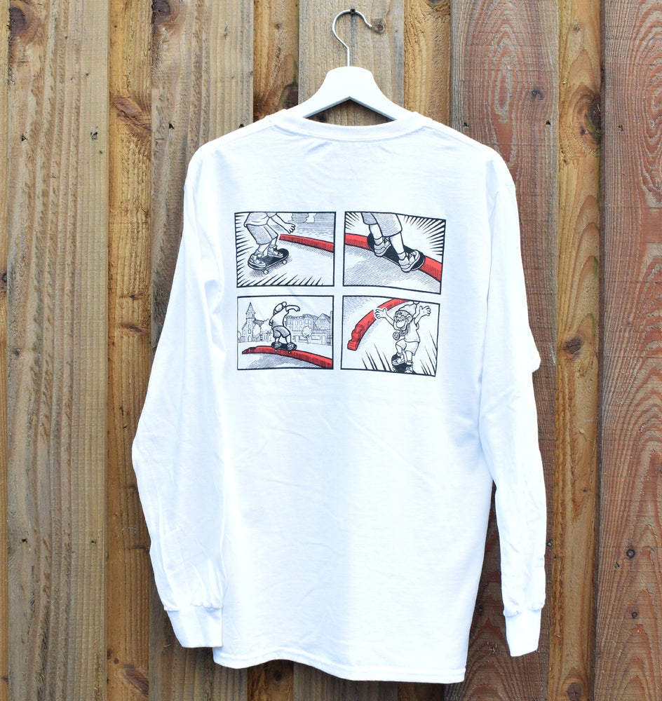 Image of Sarge Tee - L/S White