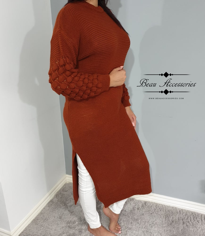 Image of Bubble Arm Jumper Maxi (ALL COLOURS)