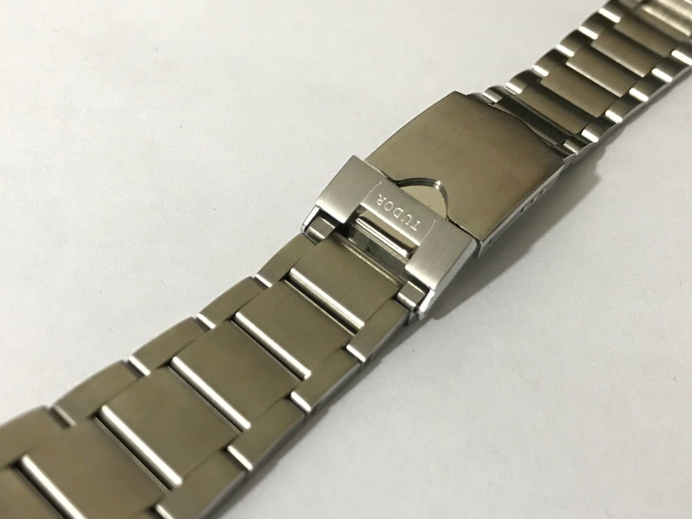 Image of TUDOR 22MM stainless steel Gents Watch strap,Tudor Heritage,Black Bay.