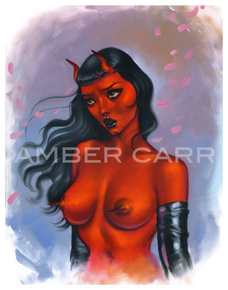 "Image of Windy Devil 11"" x 14"" Print"