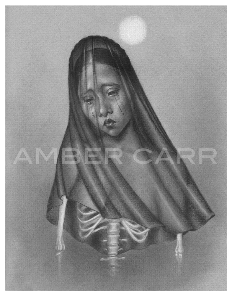 """Image of La Llorona 11"""" x 14"""" print"""