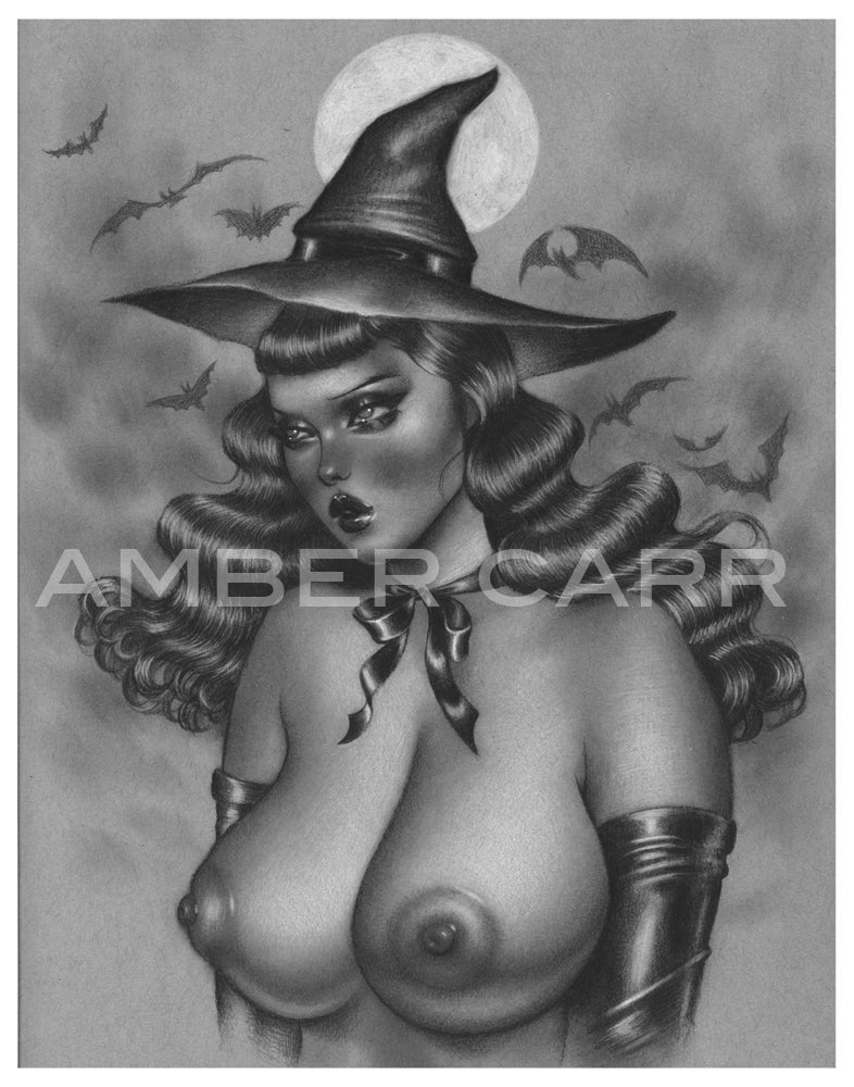 "Image of Tiddy Witch 11"" x 14"" Print"