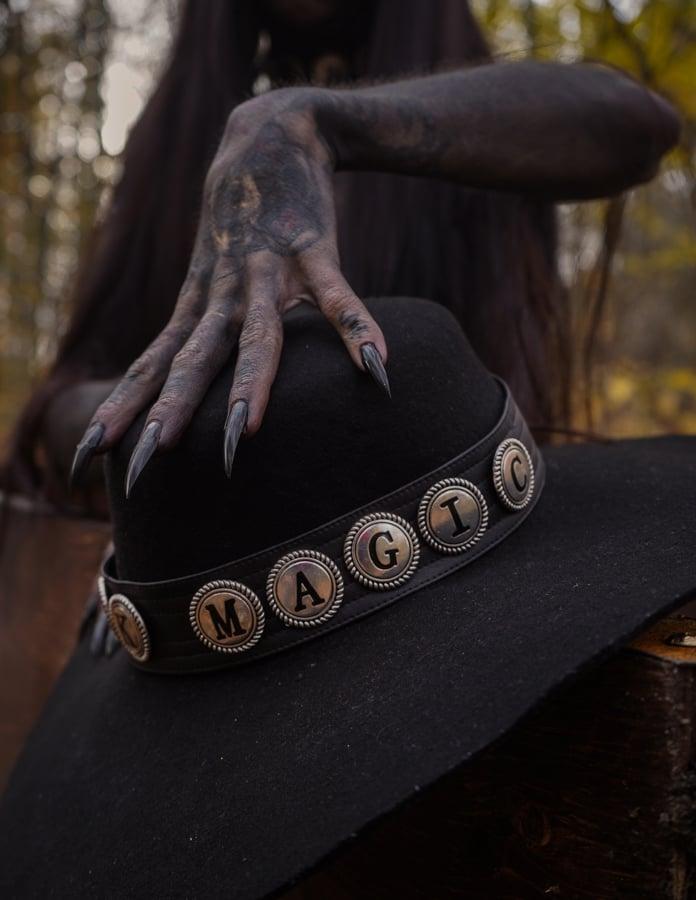 Image of Black Magic Hatband