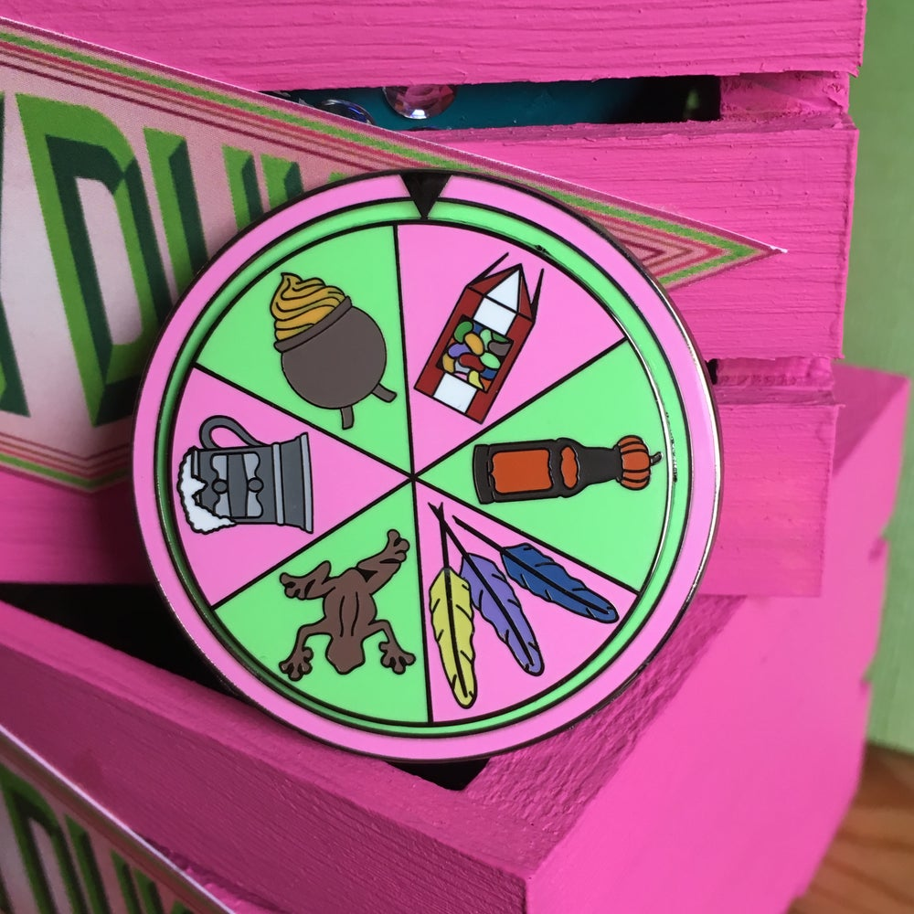 Image of Magical Treat Spinner Pin