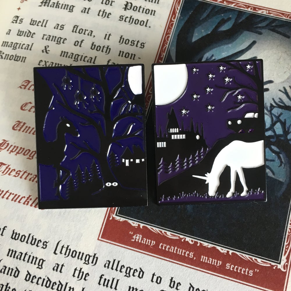 Image of The Dark Forest Pins