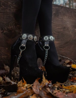 Image of Black Magic Heelstraps