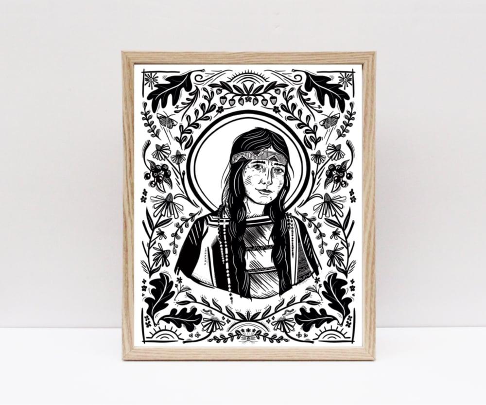 Image of St Kateri Tekakwitha