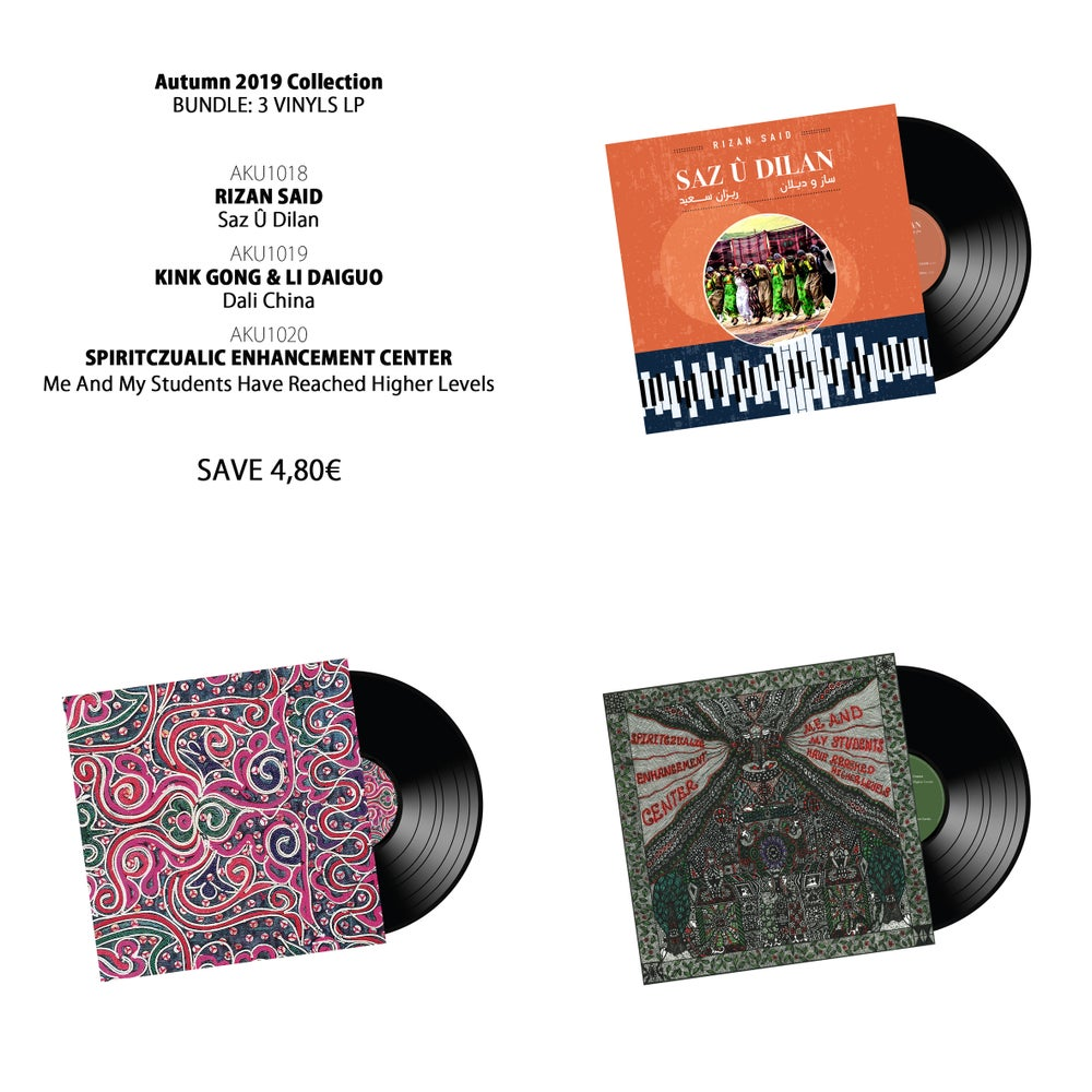 Image of BUNDLE: Autumn 2019 Collection (3 LPs)