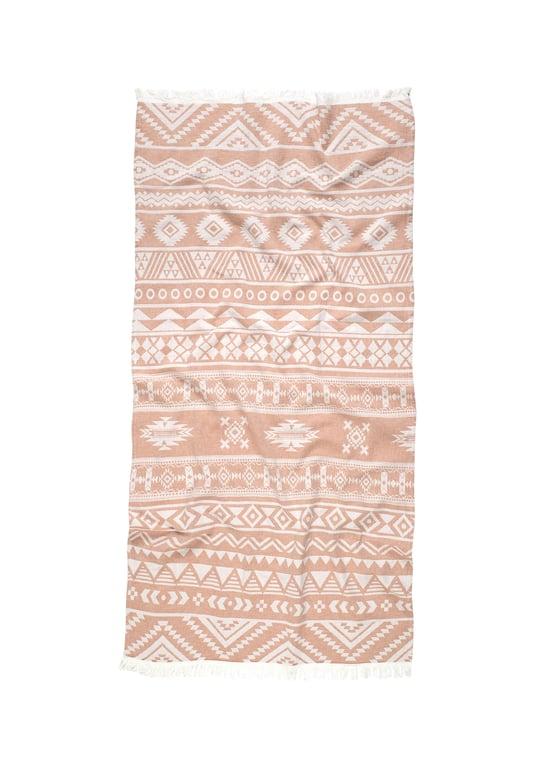 Image of Preorder Aztec/Mixed Geo Turkish Towel