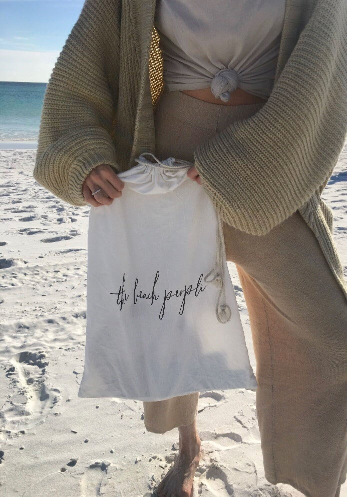 Image of The Beach People Cotton Bag