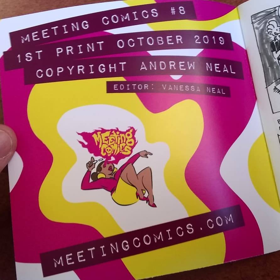 Image of Meeting Comics #9