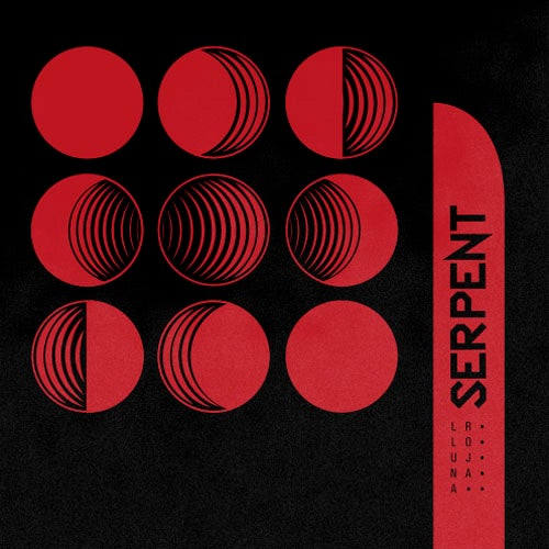 "Image of LADV129 - SERPENT ""lluna roja"" LP"
