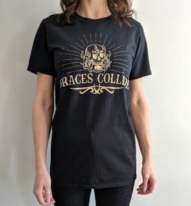 Image of Kraken skull t-shirt - Black