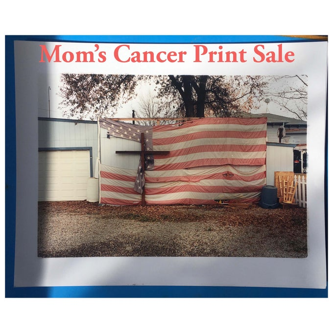 Image of America// cancer print sale