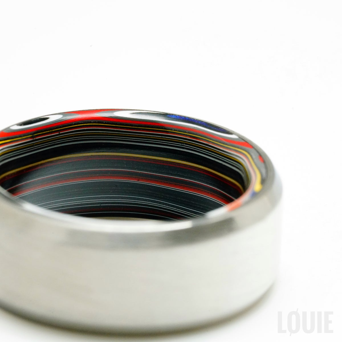 Image of Titanium (or carbon) Fordite roller (Limited)