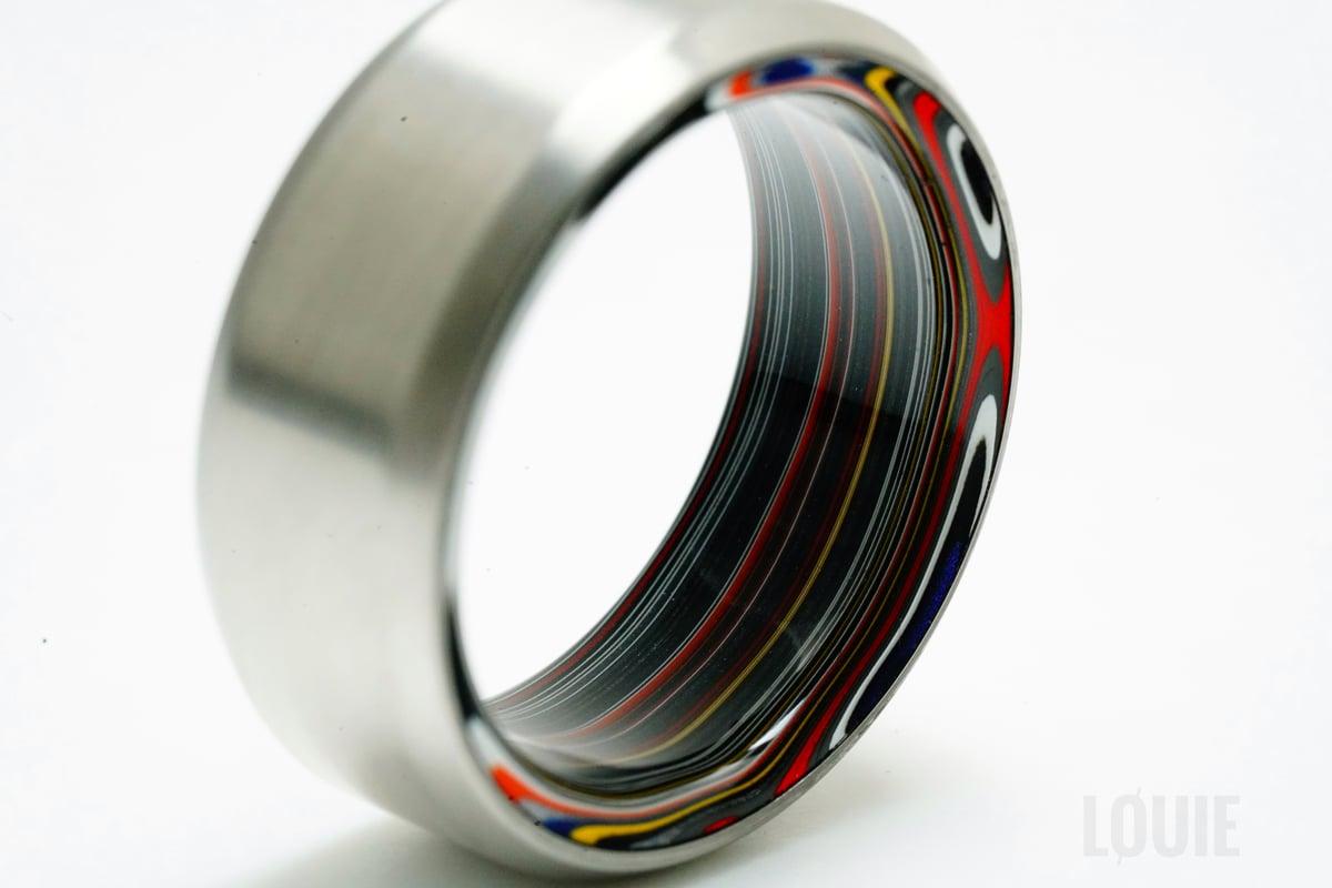 Image of Titanium Fordite roller (Limited)