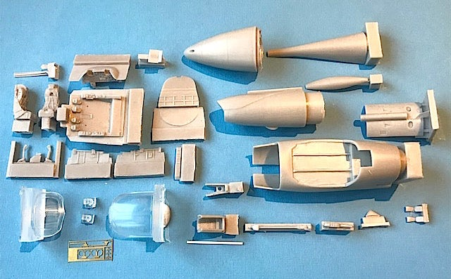 Image of Hawker Hunter T.7 Conversion (Early RN) for Airfix kit
