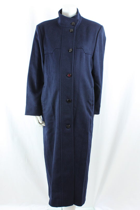 Image of 100% Wool Maternity Coat Size 10M