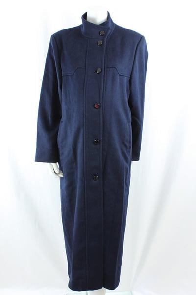 Image of 100% Wool Maternity Coat Size 10M
