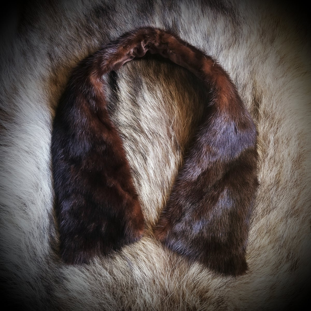 Image of Vintage Fur Collar