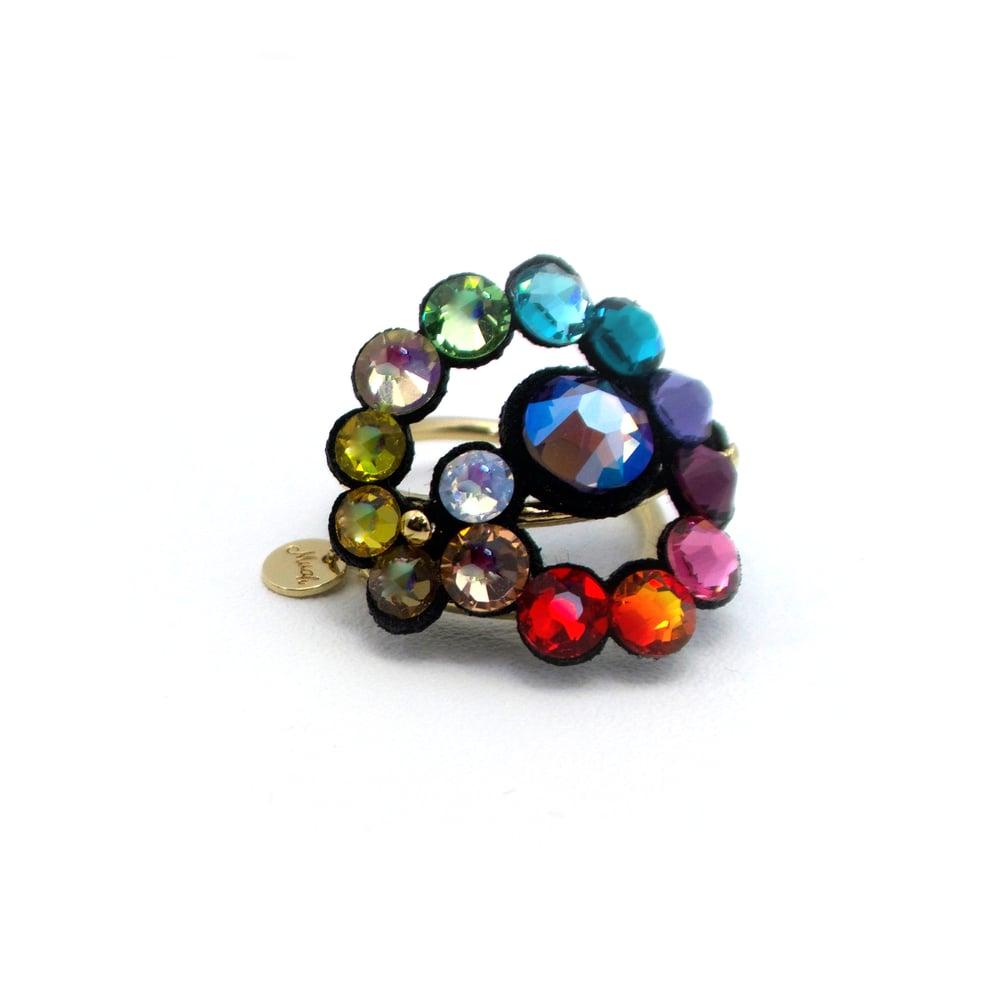 Image of ANELLO - RAINBOW stones