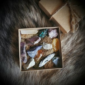 Image of Raw Gemstone Collection