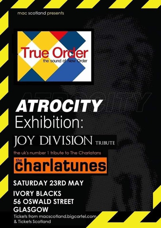 Image of True Order // Atrocity Exhibition // The Charlatunes - Sat 23rd May 2020