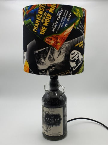 Image of FRANKENSTEIN Kraken Rum Bottle Lamp Deal