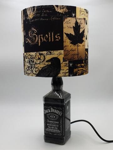 Image of NEVERMORE Jack Daniel's Bottle Lamp Deal