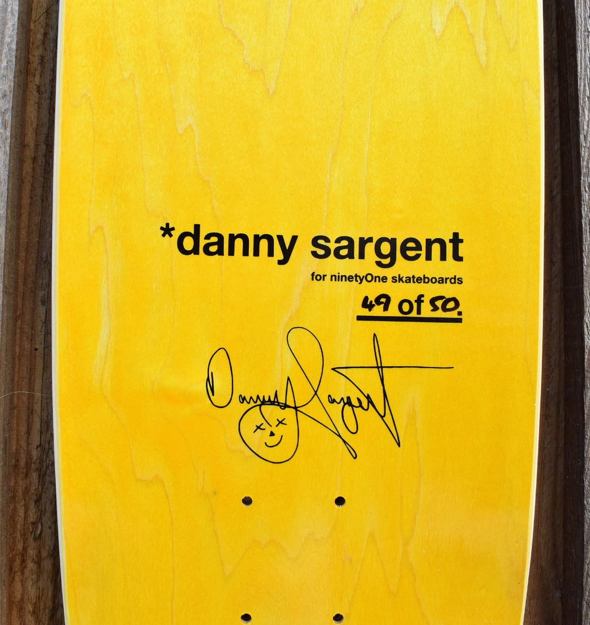 Image of Danny Sargent Guest Model - Football Shape