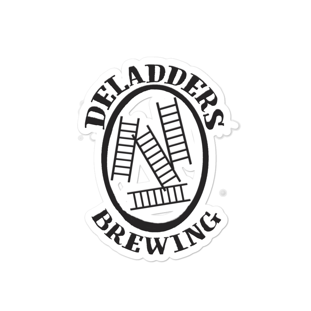 Image of Deladders Logo Kiss Cut Sticker