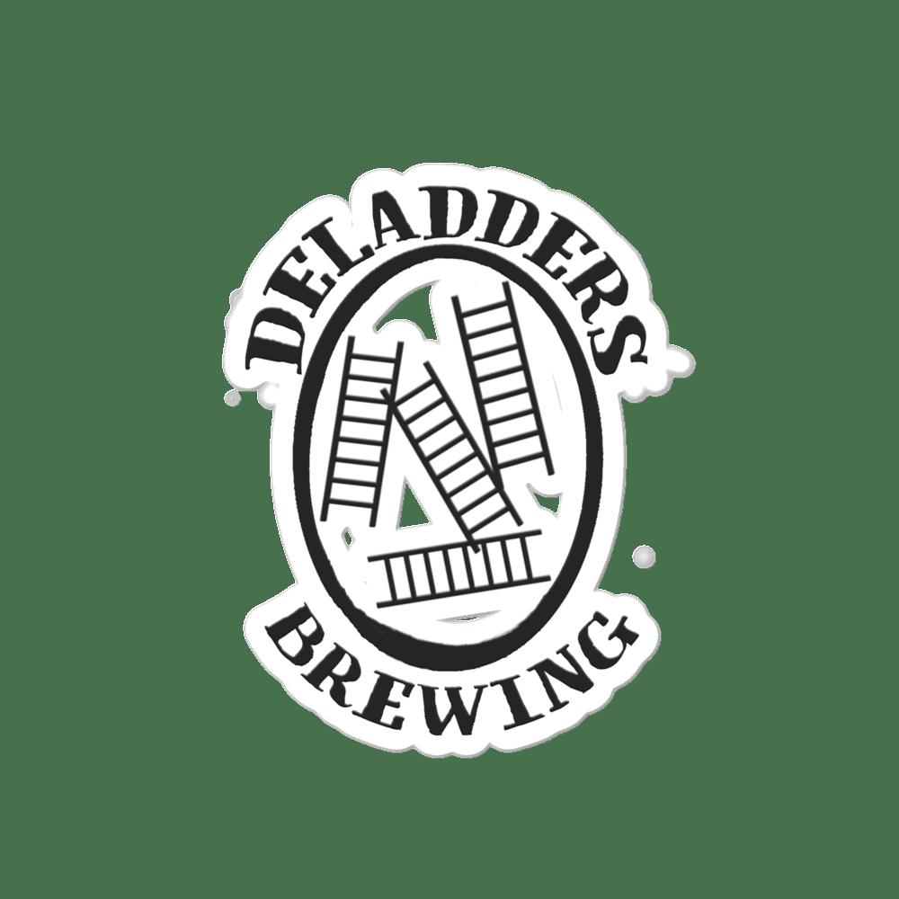 Image of Deladders Logo Kiss Cut Sticker
